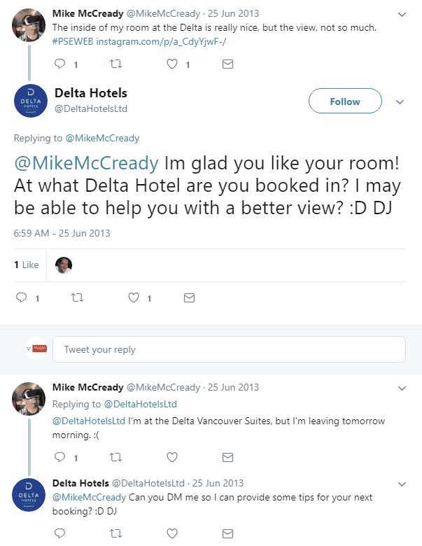 Delta Hotels customer service