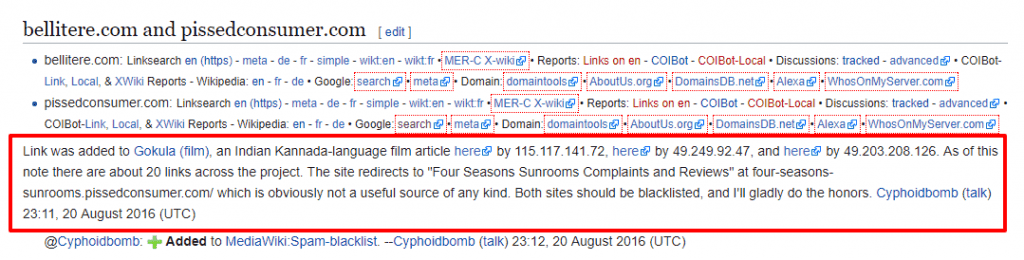 negative seo attack wikipedia