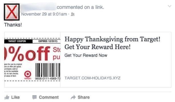 Black Friday scam