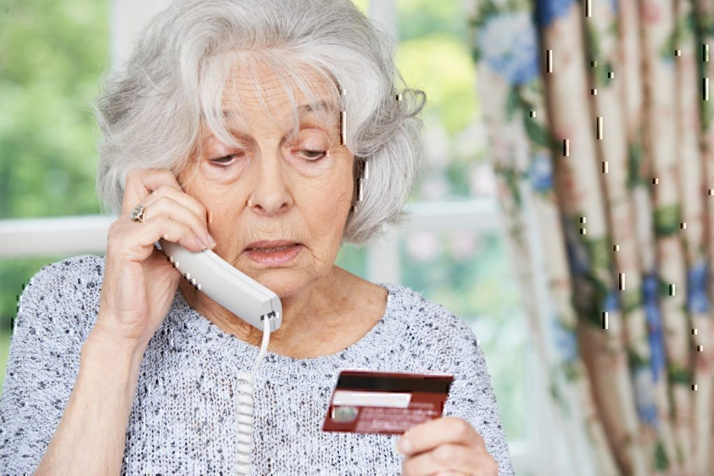 senior people scam