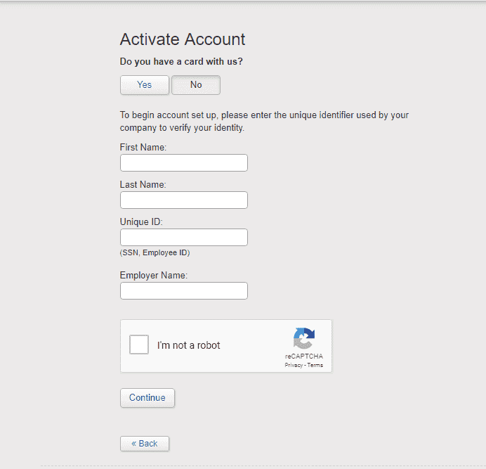 How to activate a Global Cash Card account
