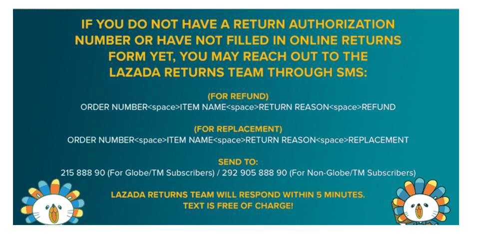 How to return an item to Lazada Philippines