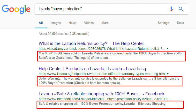 How to get full refund from Lazada