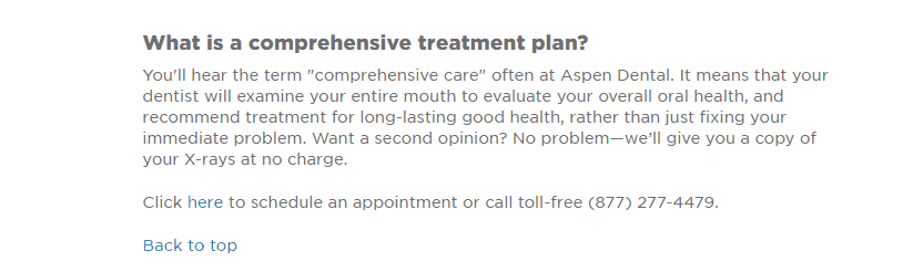 Aspen Dental Dental Services FAQs