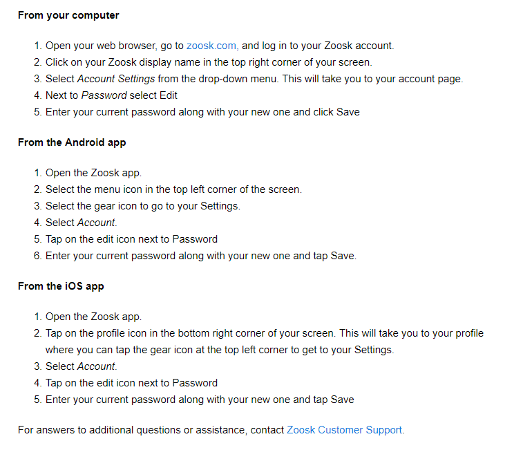 What to do if my Zoosk account was hacked