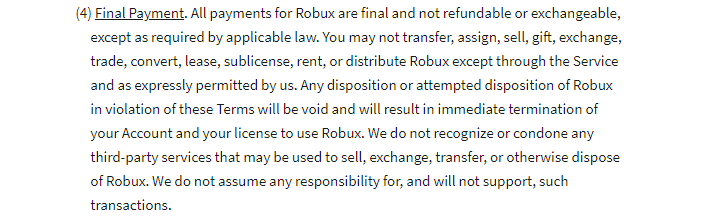 how to get Roblox refund