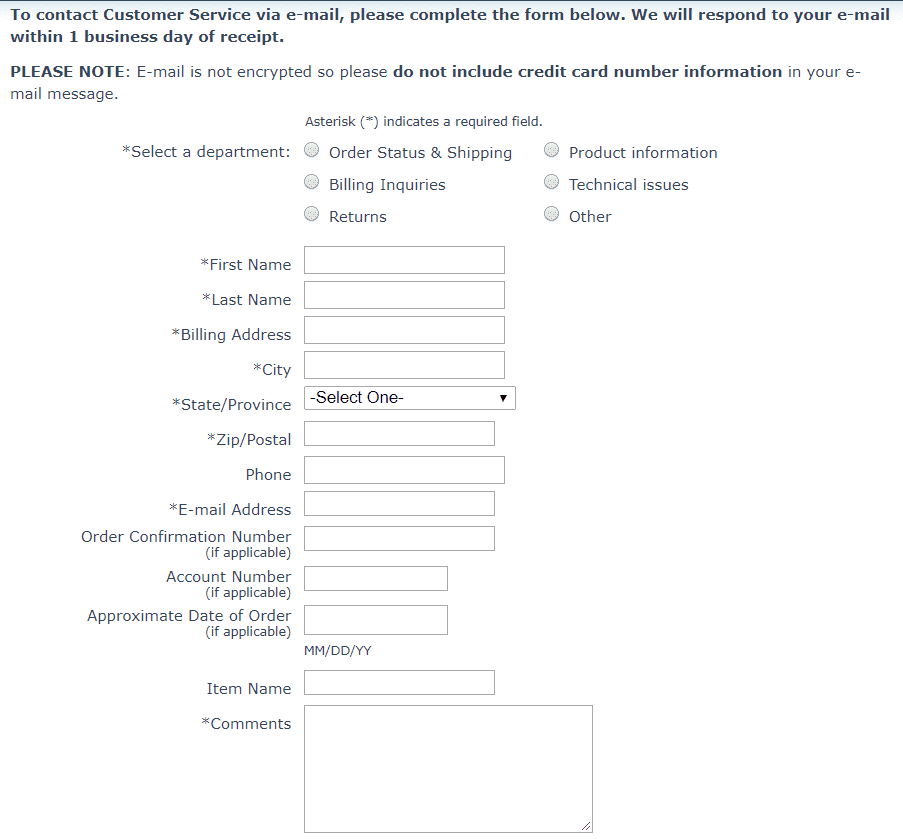 How to change order details on BradfordExchange.com
