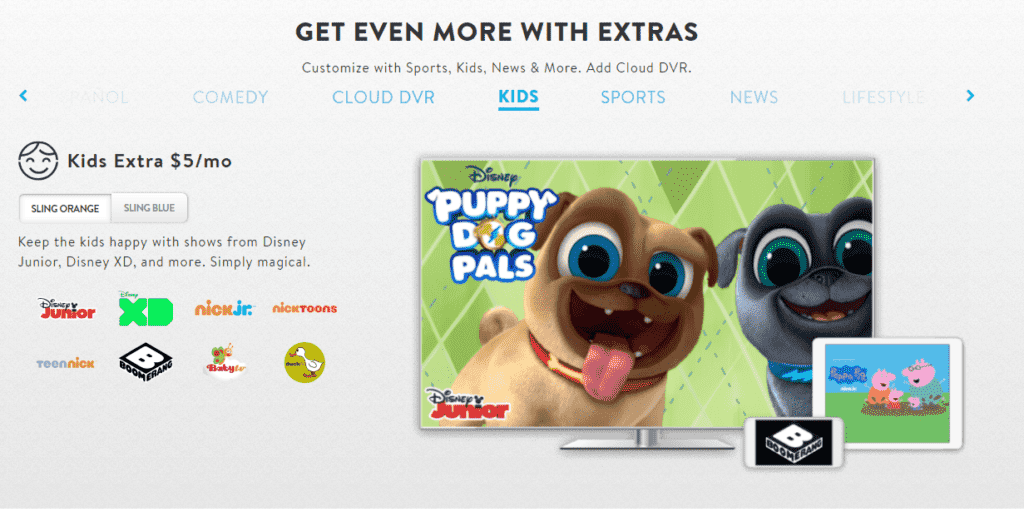 Sling TV Kids Package