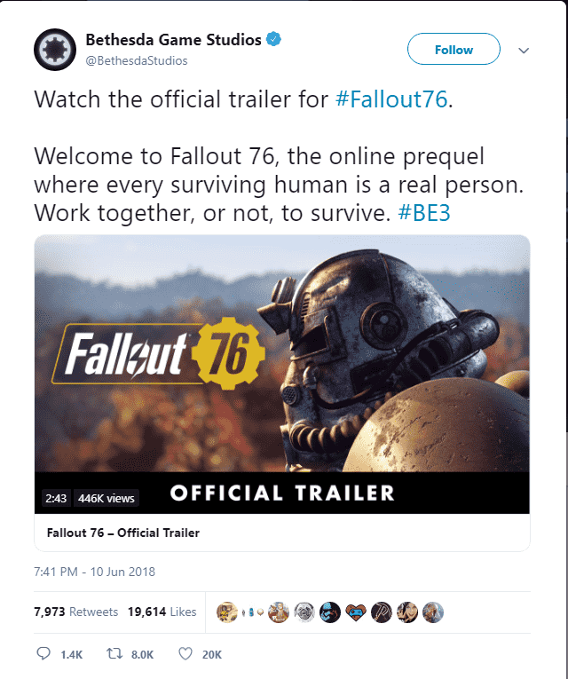 Is Fallout 76 online only game?