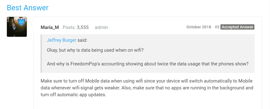 How to stop the Freedom app from using so much mobile data