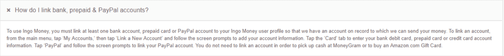 How to add or edit my credit card details on Ingo Money