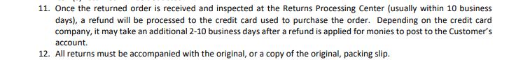It Works refund FAQs