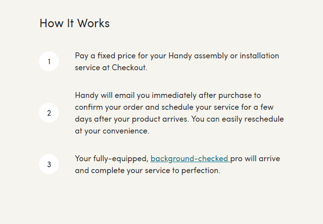 Wayfair assembly services
