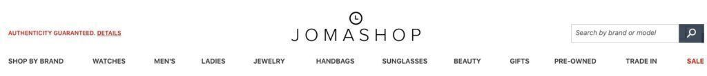 Jomashop products