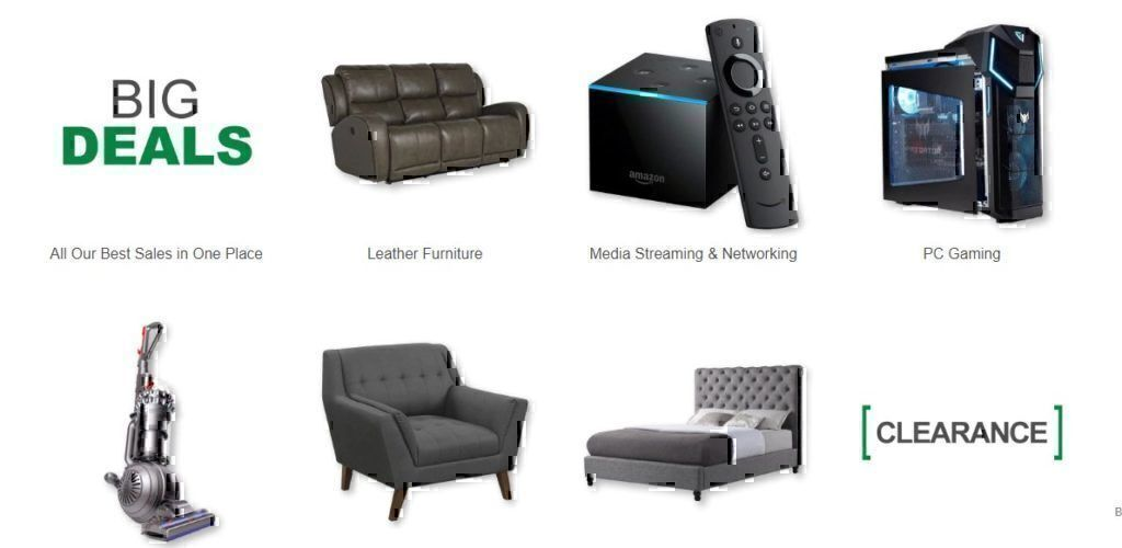 Nebraska Furniture Mart Products and Services