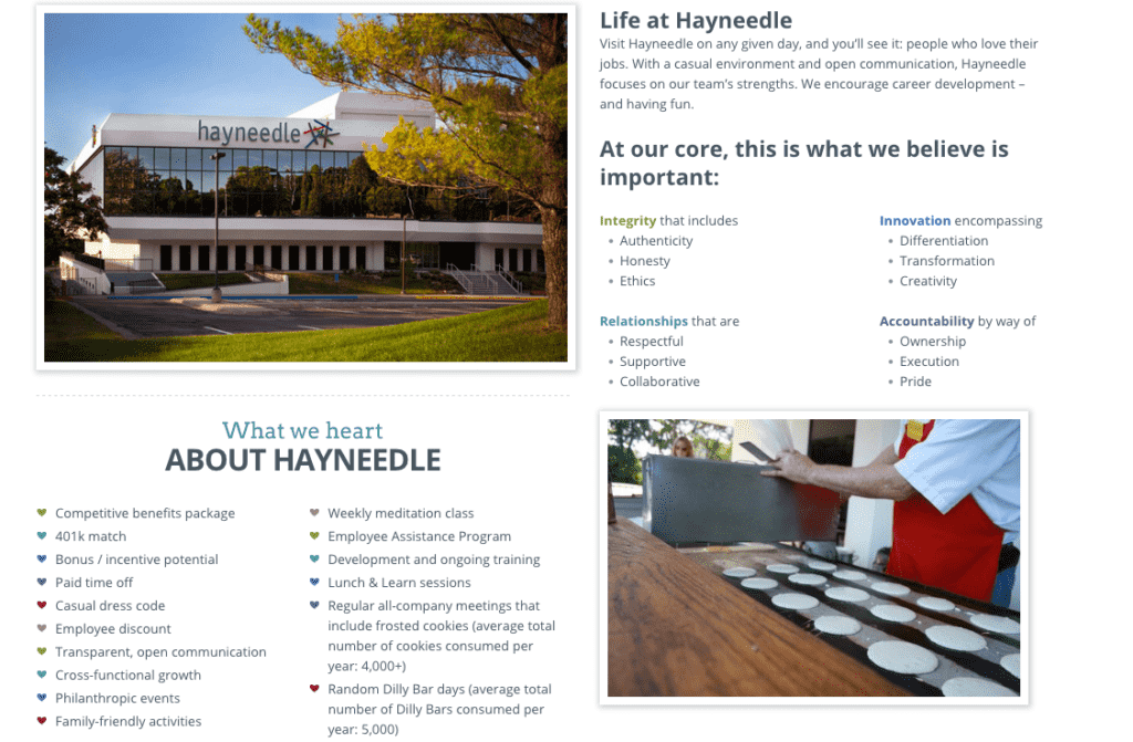 Hayneedle job opportunities