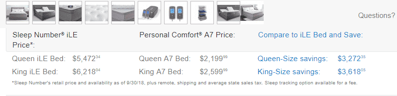 Personal Comfort Bed vs Sleep Number