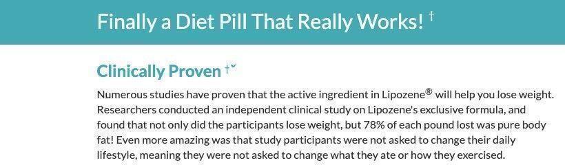 How do Lipozene diet pills work