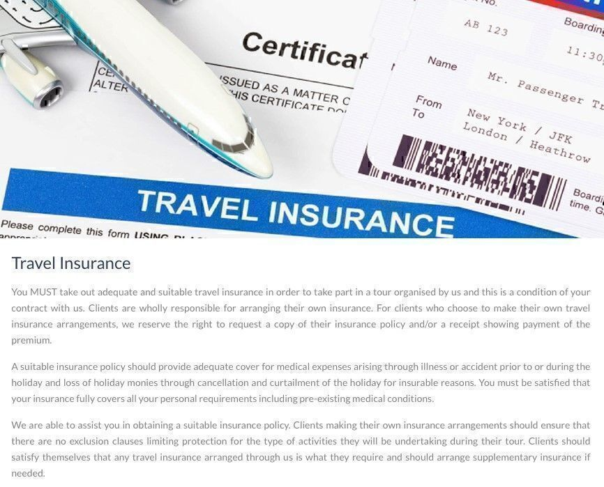 Vacations To Go Travel Insurance