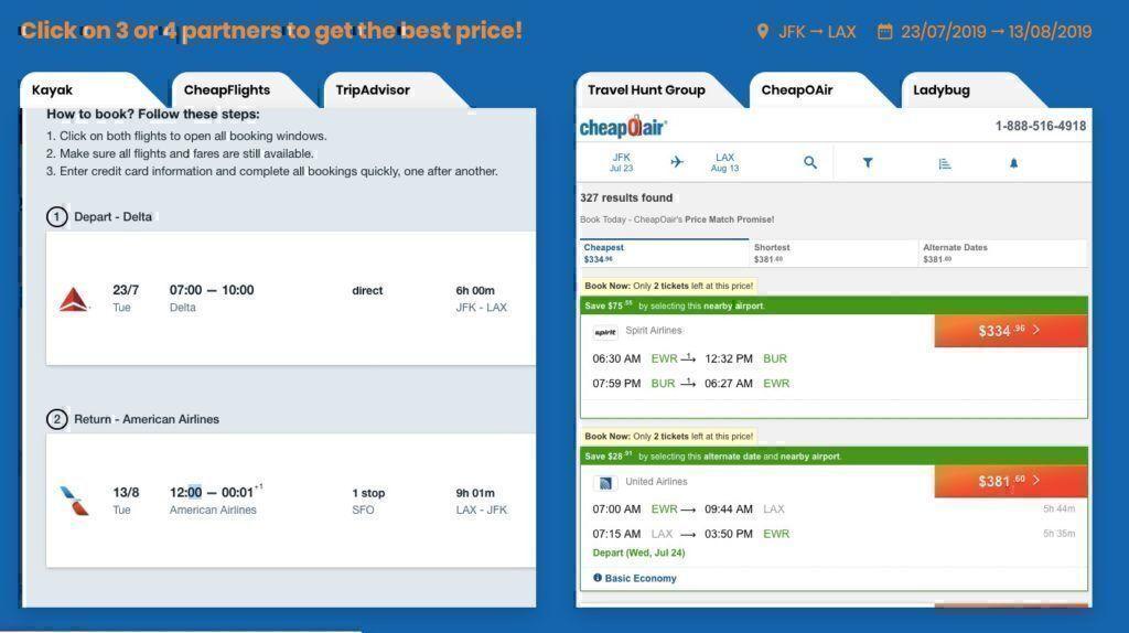 smartfares booking