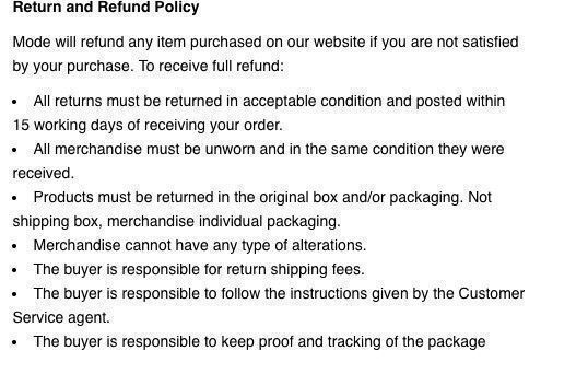 whatsmode refund policy