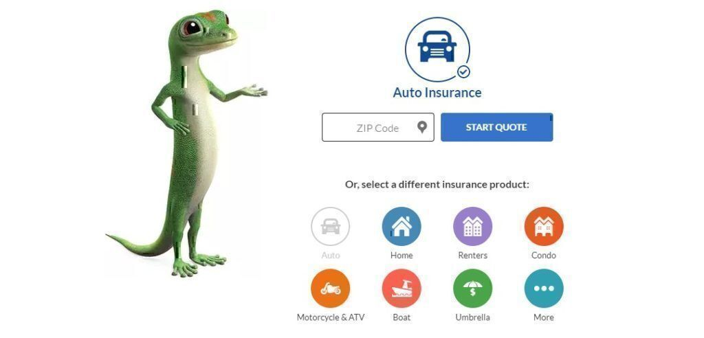 Geico insurance products