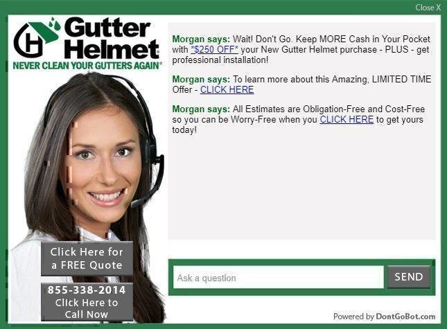 Gutter Helmet discounts