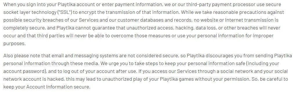 Playtika account hacked