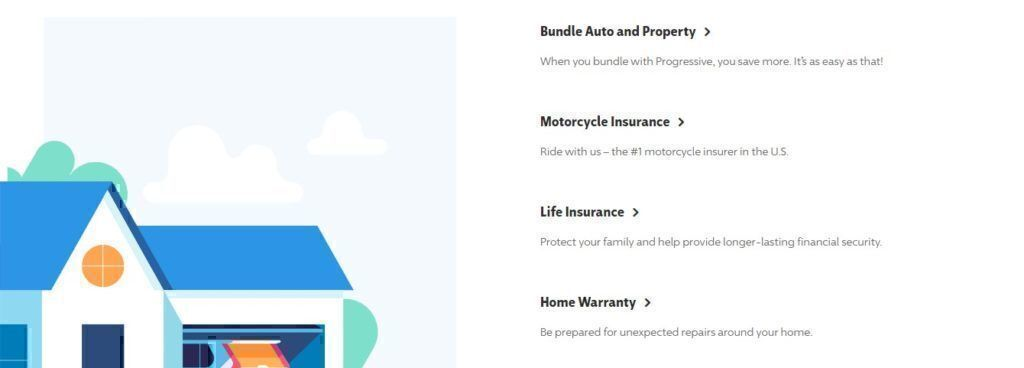 Progressive Insurance bundles