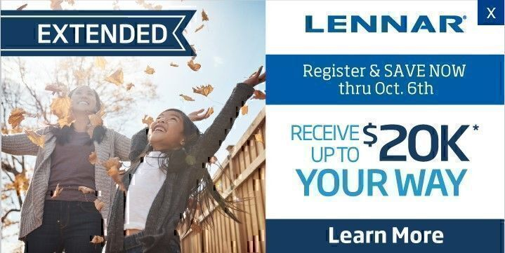 Lennar homes coupons