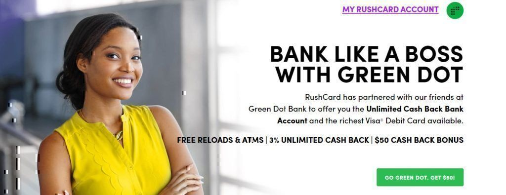 Rushcard products and services