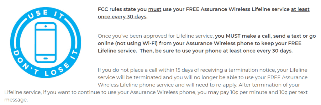 assurance wireless lifeline service