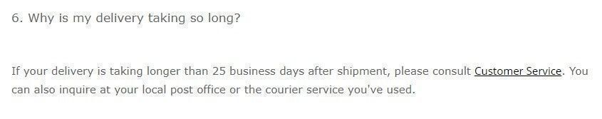 gearbest shipping policy