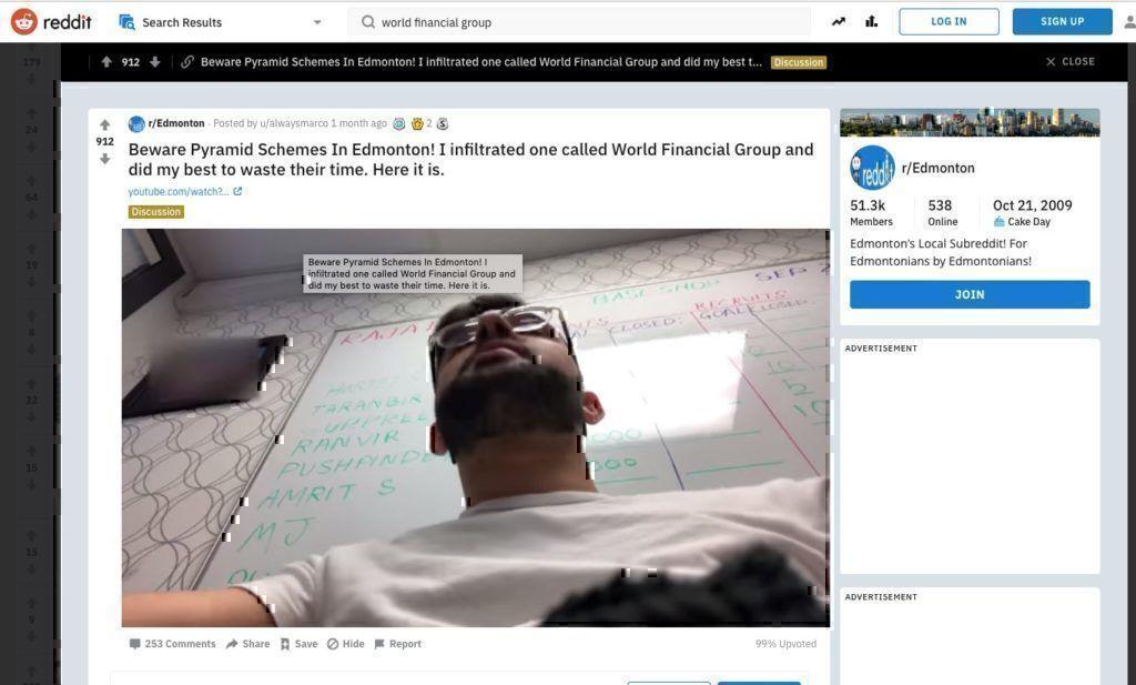 Is WFG pyramid scheme