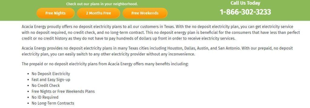What is Acacia Energy