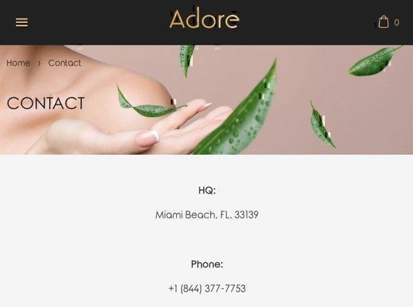 Adore Cosmetics headquarters