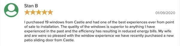 Castle Windows reviews