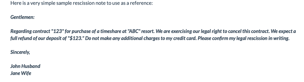 Sapphire Resorts cancelation policy