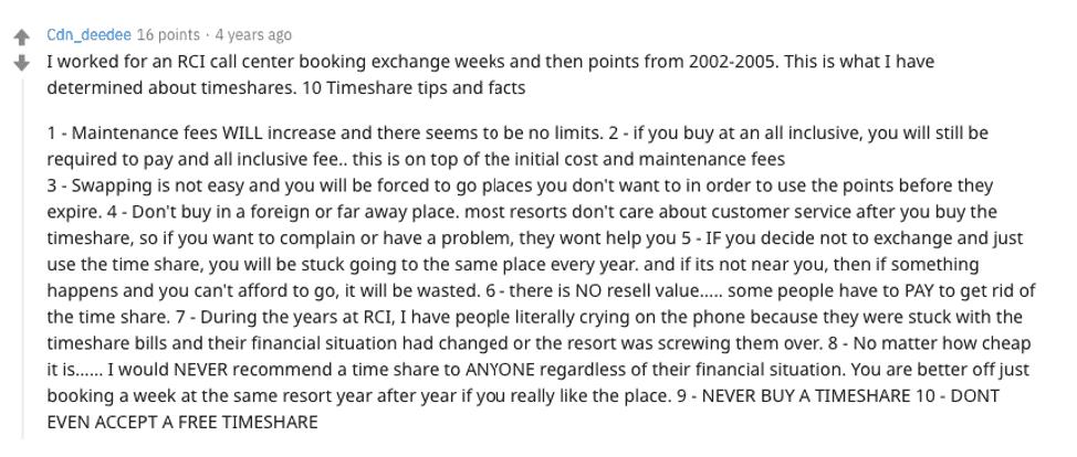 Sapphire Resorts membership reviews