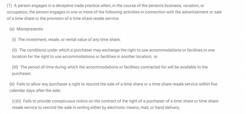 Sapphire Resorts timeshare cancellation
