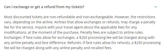 asap tickets refund policy