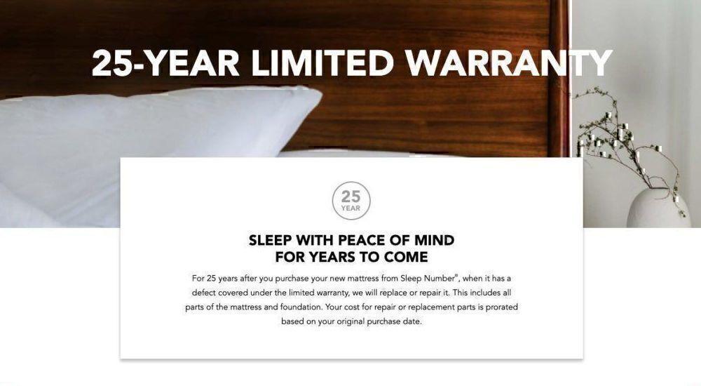 Sleep Number warranty