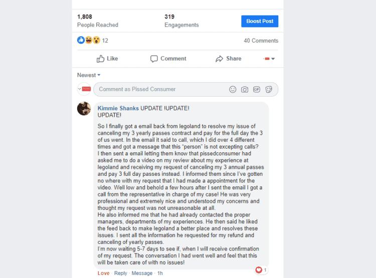 pissedconsumer user comment