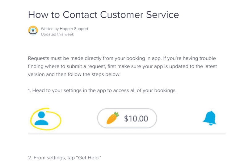 How to contact Hopper Customer Support